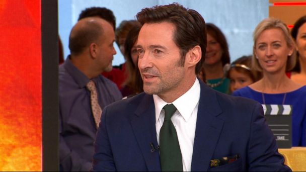 VIDEO: Hugh Jackman appears live on 'GMA'