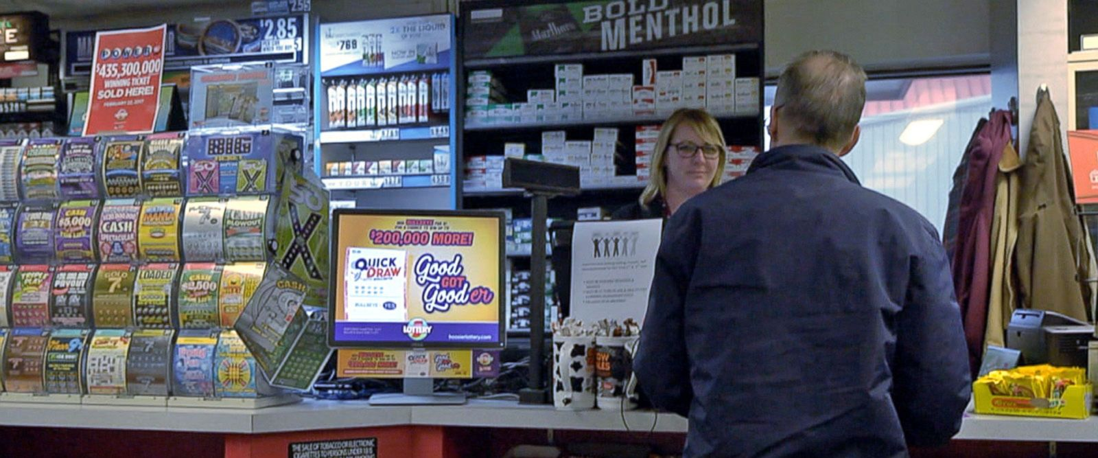 VIDEO: Mystery of Indiana Powerball winner excites small town