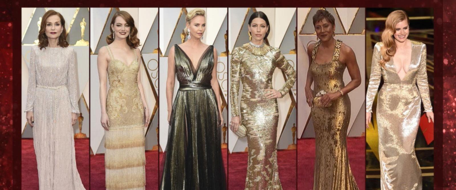 VIDEO: The hottest fashion looks from the Oscars red carpet