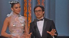 VIDEO: Politics take center stage at the Oscars