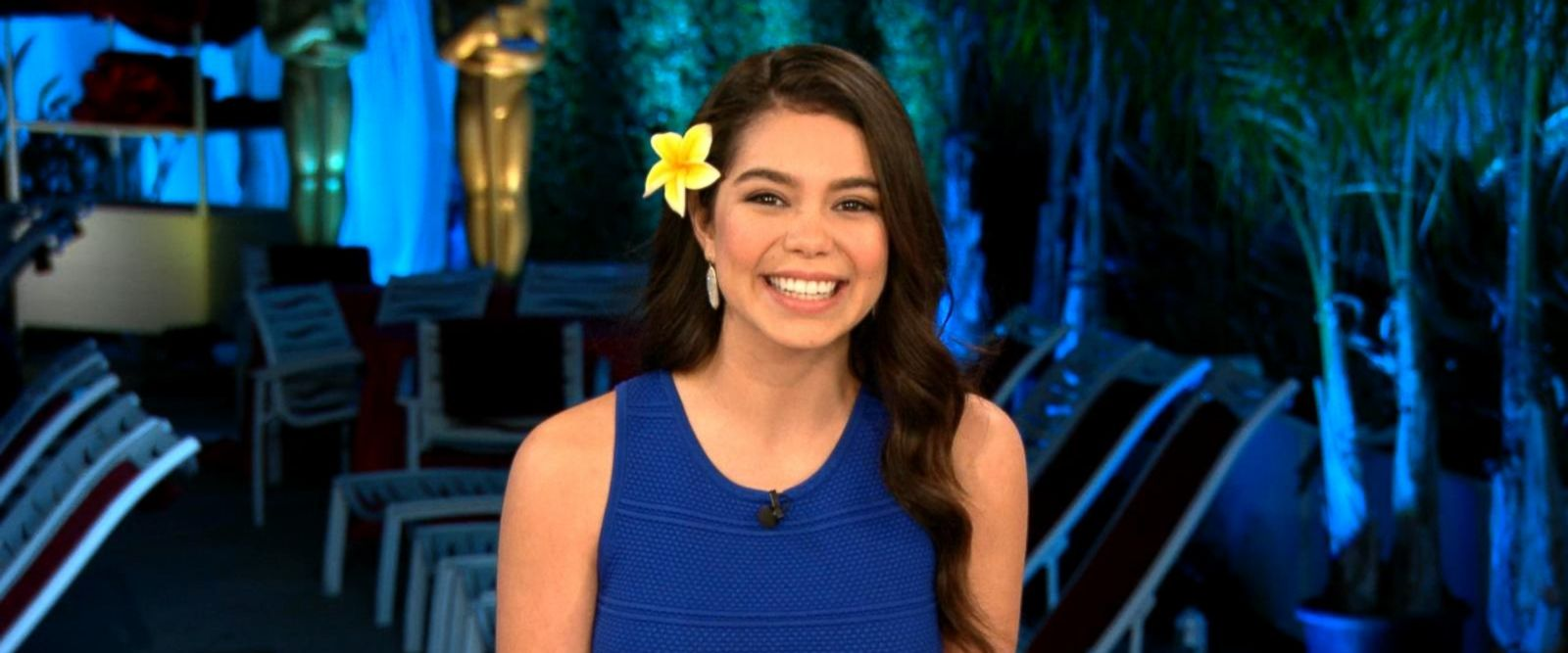 VIDEO: Breakout star Aulii Cravalho from Moana dishes on her Oscars performance