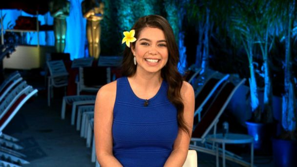 VIDEO: Breakout star Auli'i Cravalho from 'Moana' dishes on her Oscars performance