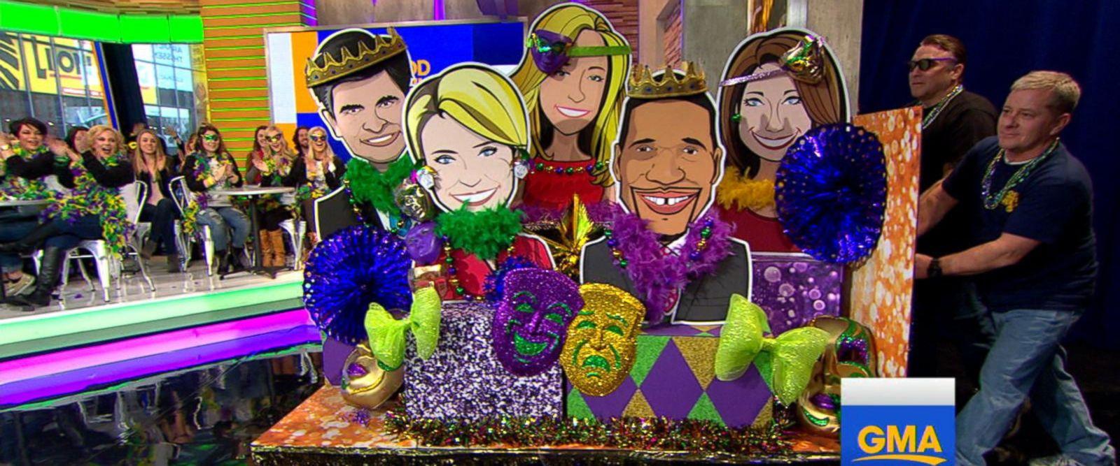 VIDEO: Robin Roberts brings Mardi Gras spirit to 'GMA'