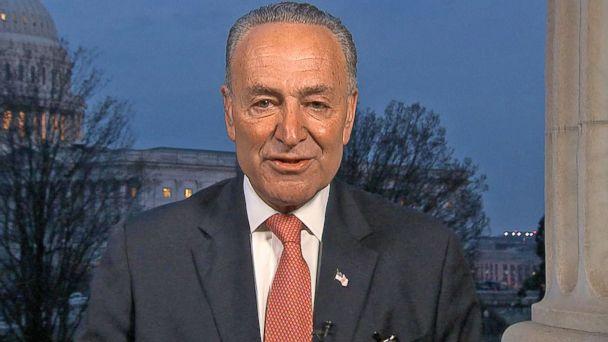 VIDEO: Sen. Chuck Schumer responds to Trump's address to Congress