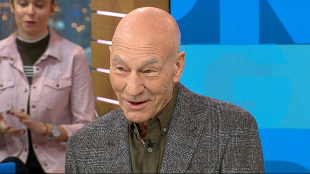 VIDEO: Patrick Stewart dishes on 'Logan' live on 'GMA'
