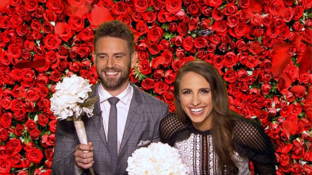 VIDEO: Bachelor Nick Viall and his new fiancé play 'Wedded Bliss or Total Miss'