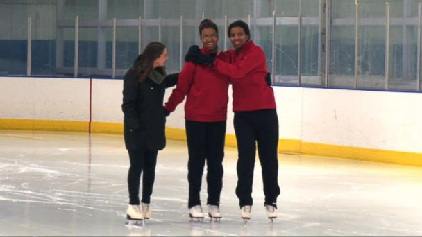 VIDEO: Twins taking the Special Olympics World Winter Games by storm