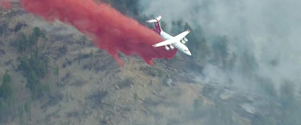 VIDEO: Colorado wildfire forces hundreds of evacuations