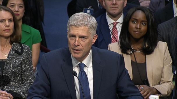 VIDEO: Supreme Court nominee makes 1st congressional appearance