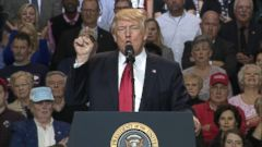 VIDEO: Trump sidesteps Russia inquiry at Kentucky rally