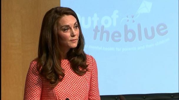 VIDEO: Kate, 35, also addressed the London terror attack at the launch of the