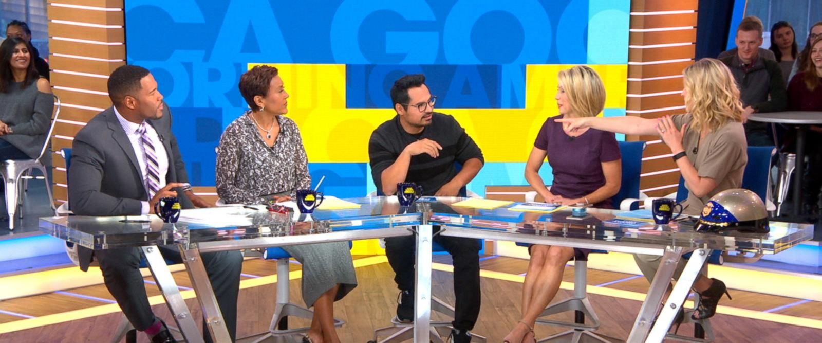 VIDEO: Michael Pena plays 'Tune the Beat Around' game with the 'GMA' anchors