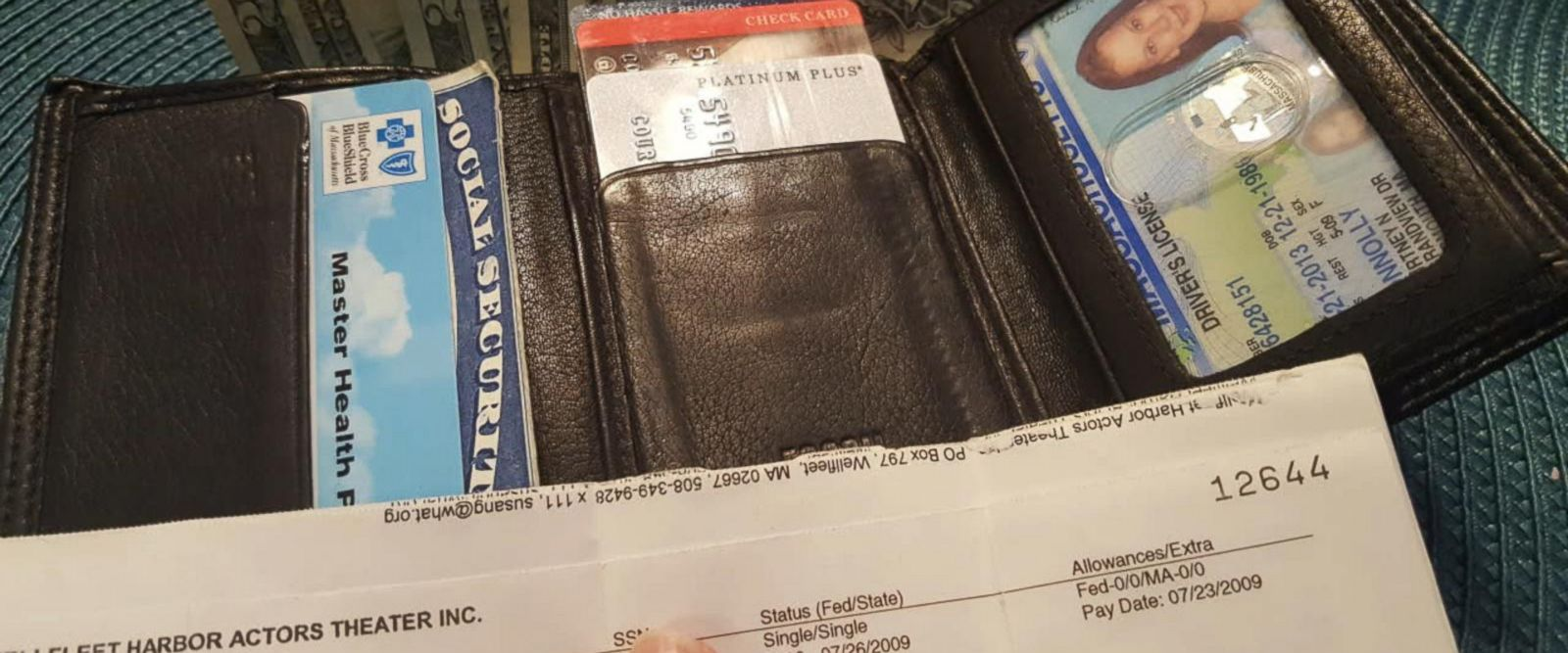 VIDEO: Woman's wallet returned 8 years later