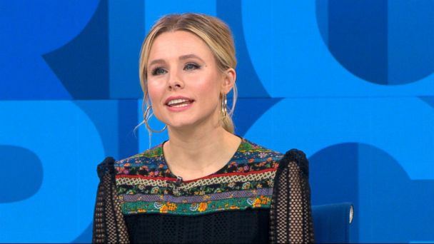 VIDEO: Kristen Bell talks about starring in 'Chips' opposite her husband
