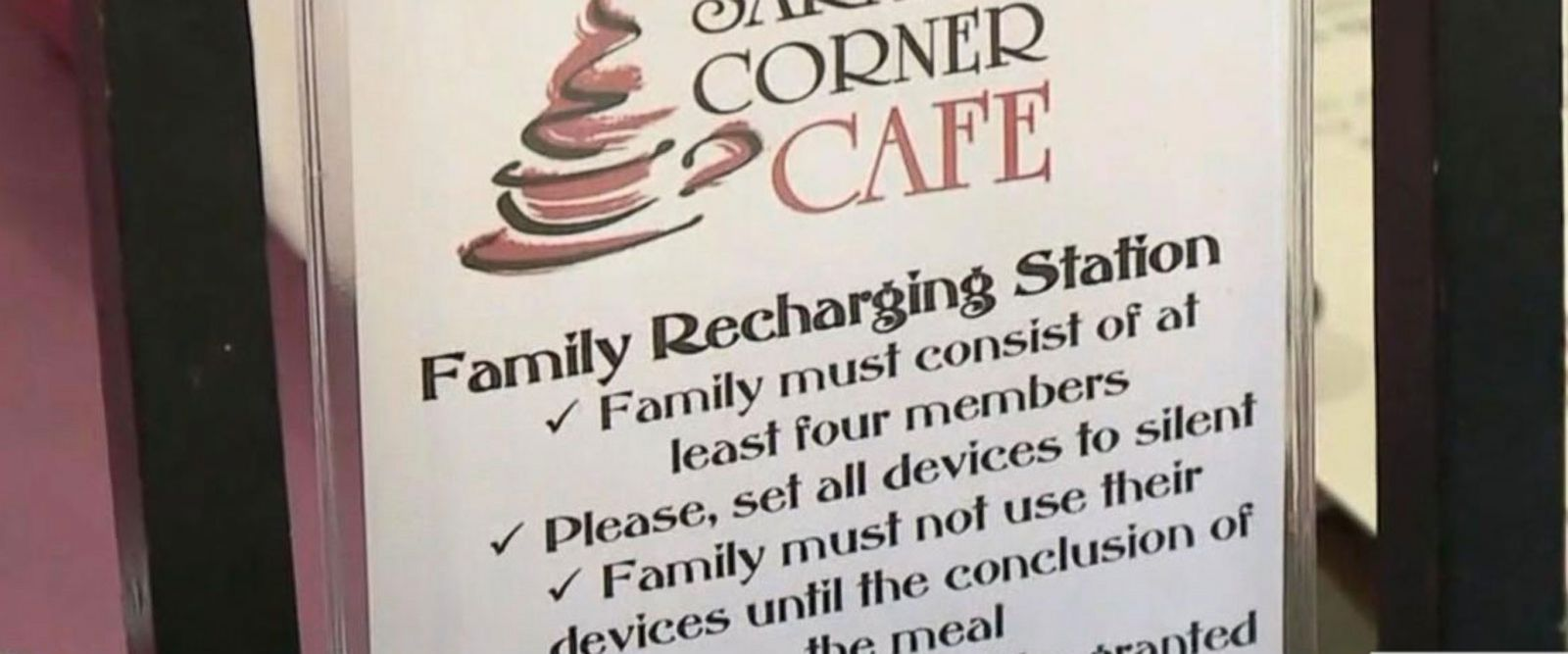 VIDEO: Pennsylvania restaurant offers discount for families who have 'phone-free meals'