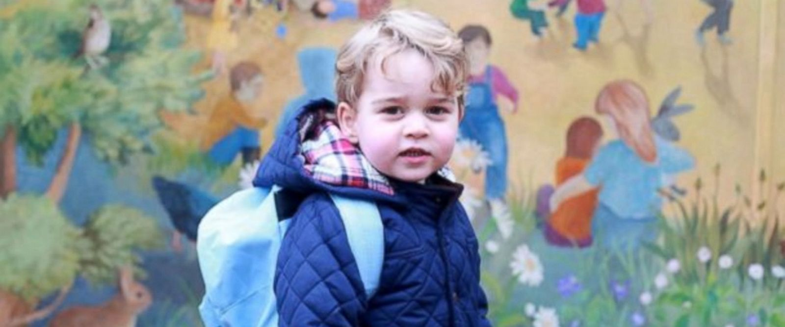 VIDEO: George, 3, will attend Thomas's Battersea School in London in September, Kensington Palace announced.