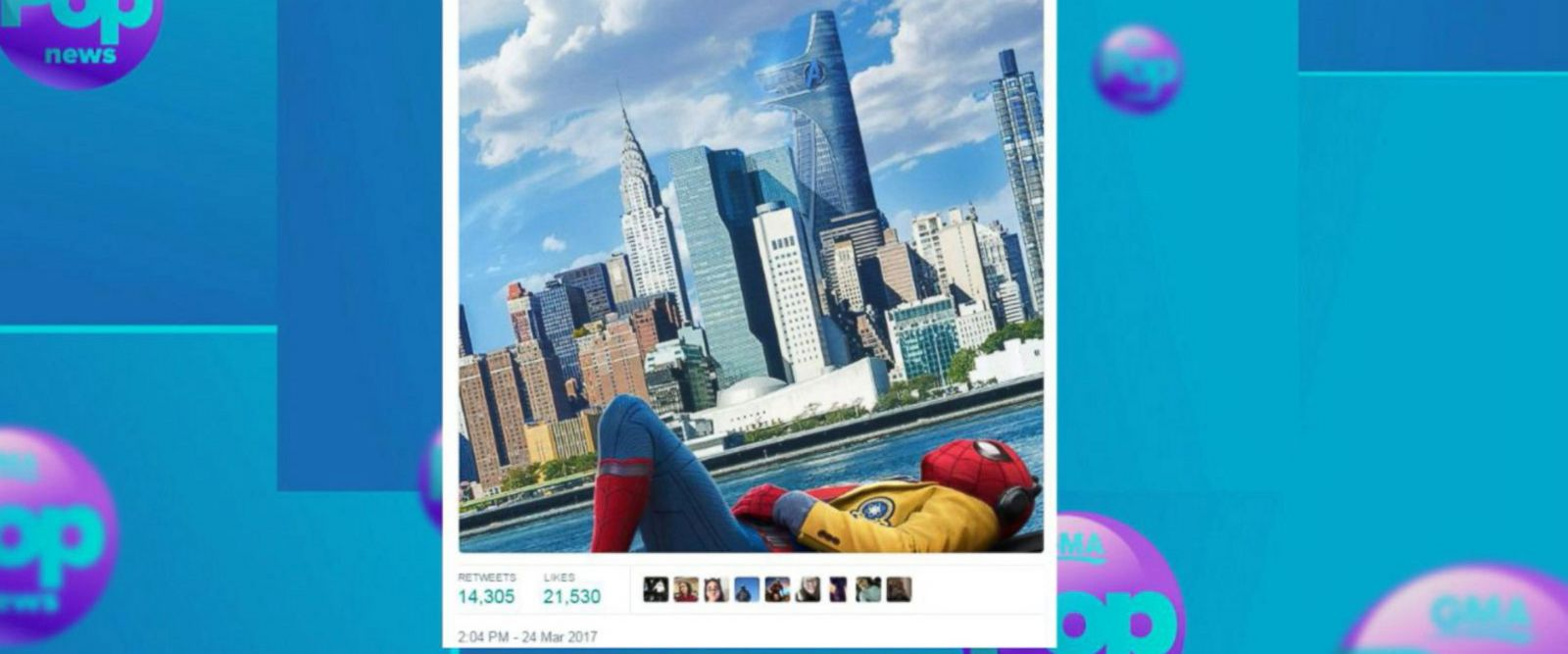 VIDEO: 'Spiderman: Homecoming' poster released by Marvel Studios