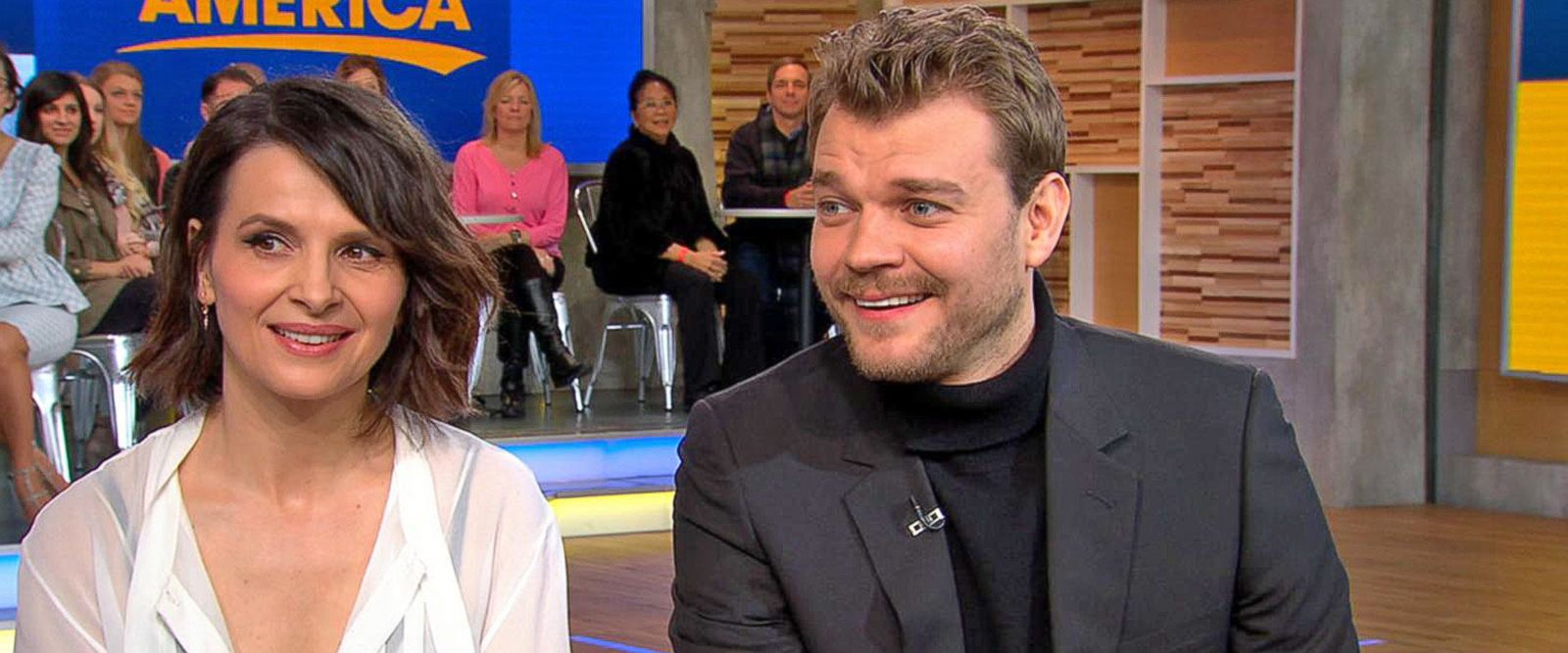 VIDEO: Pilou Asbaek and Juliette Binoche dish on 'Ghost in the Shell'
