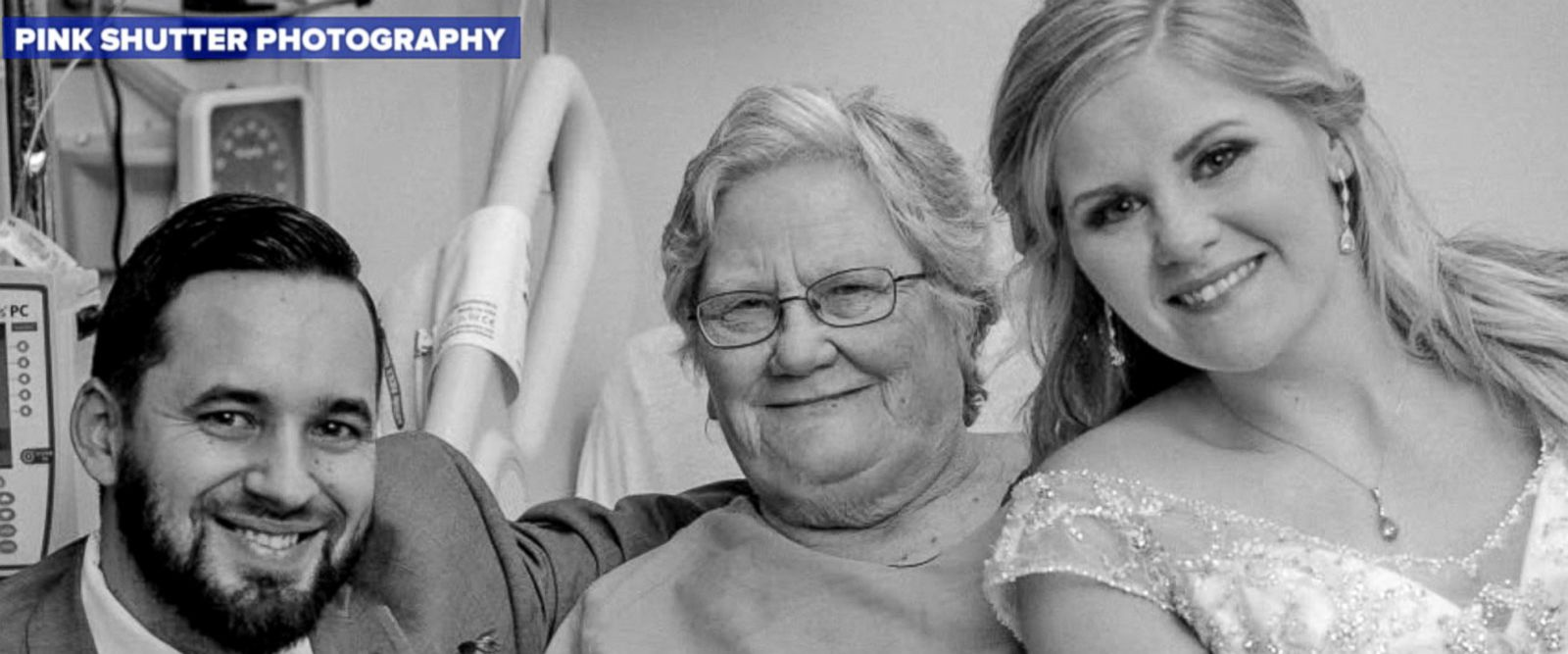 VIDEO: Bride, groom surprise grandmother at hospital