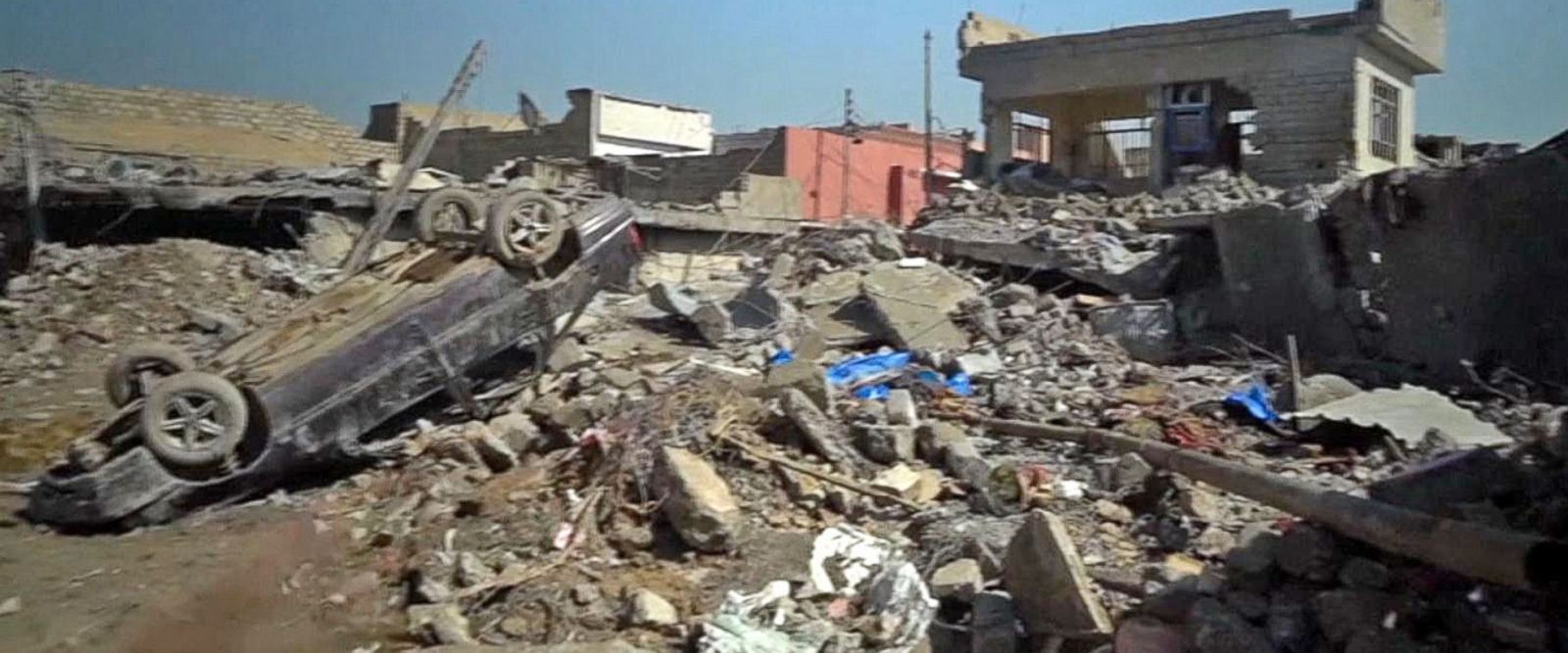 VIDEO: US-led airstrike on Mosul may have killed Iraqi civilians