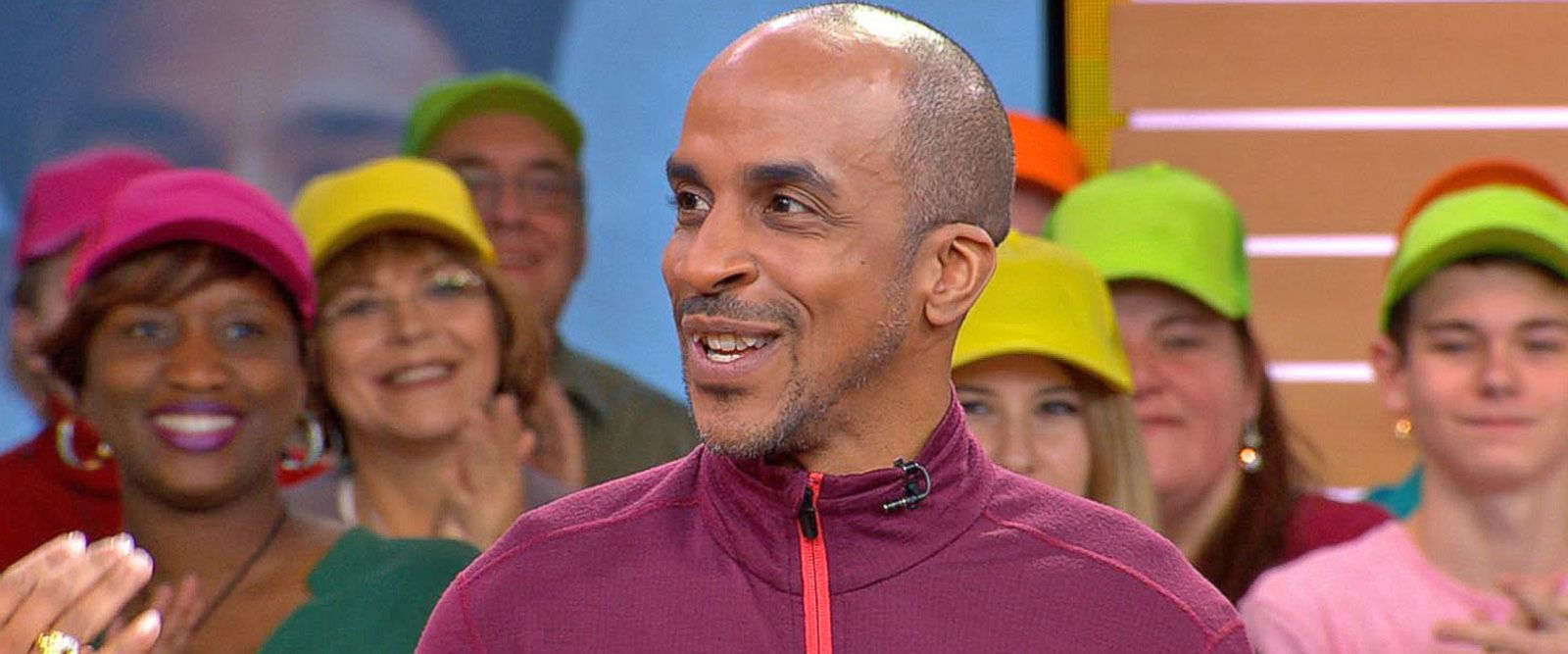 VIDEO: America's fittest truck driver shares his tips live on 'GMA'
