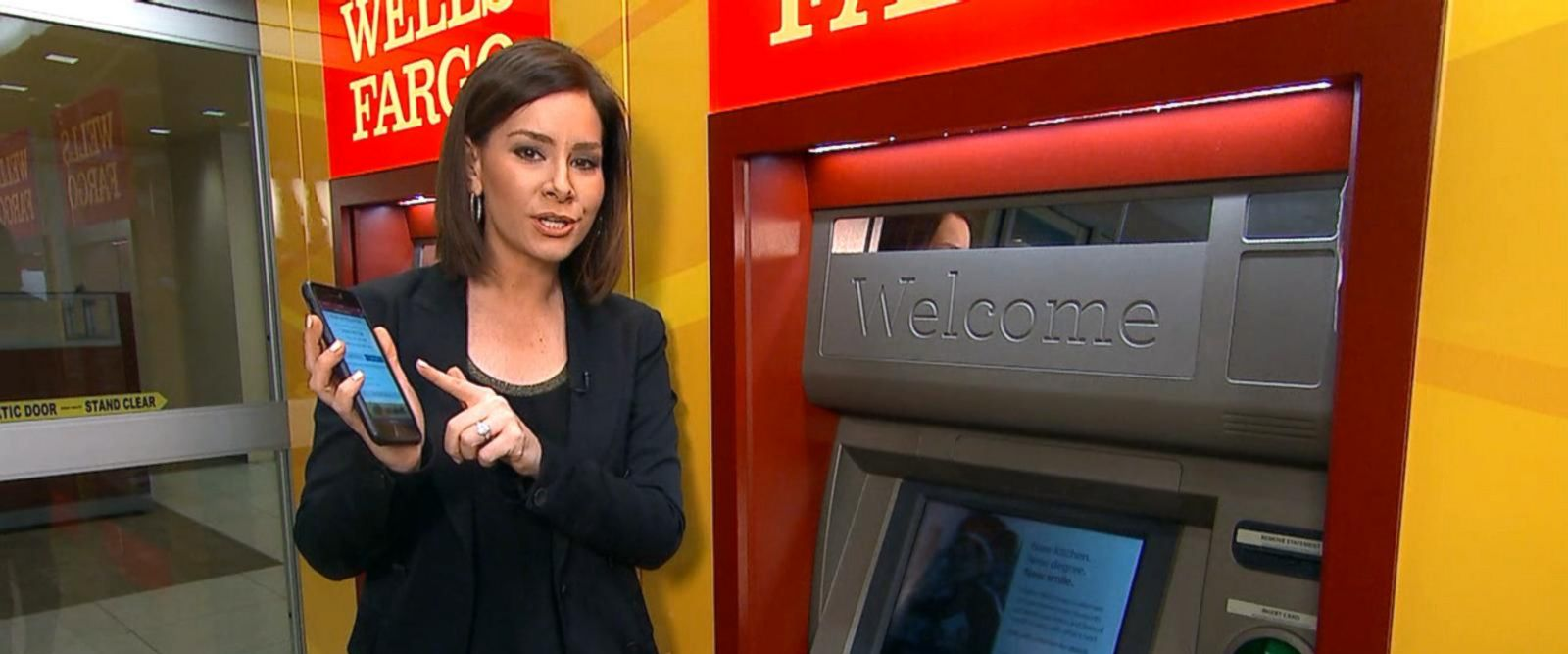 VIDEO: Wells Fargo bank debuts new cardless ATM machines