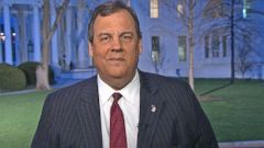 VIDEO: Gov. Chris Christie reacts to Russia election investigation