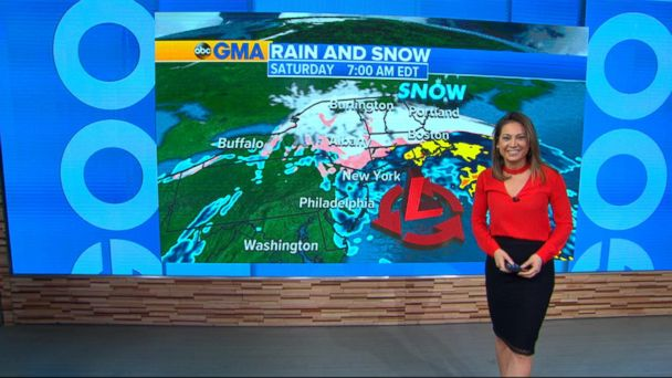 VIDEO: Severe weather expected in South and Midwest, possible snow in Northeast