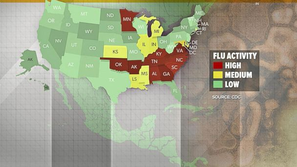VIDEO: Dr. Richard Besser discusses the 'second wave' of flu season