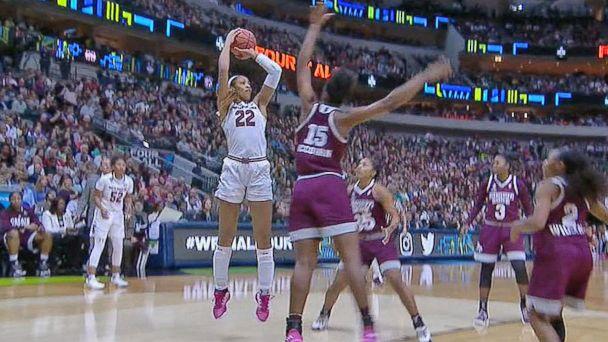 VIDEO: South Carolina wins NCAA women's championship