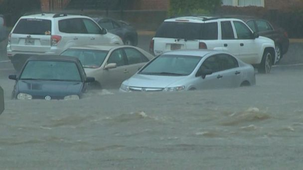 VIDEO: Severe storms hit the South, move east