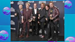 VIDEO: Journey gets Rock and Roll Hall of Fame induction