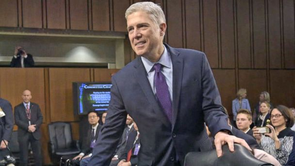 VIDEO: Neil Gorsuch confirmed as Supreme Court Justice
