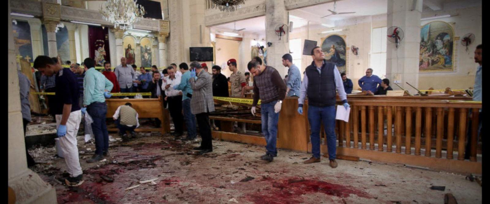 VIDEO: Palm Sunday terror attacks rock Egypt