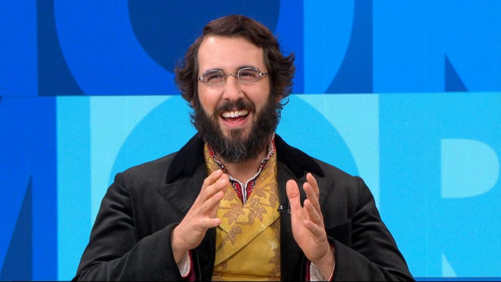 josh groban opens up about his broadway debut video abc news. Black Bedroom Furniture Sets. Home Design Ideas