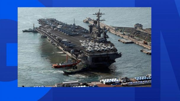 VIDEO: Aircraft carrier not headed to North Korea, according to US officials
