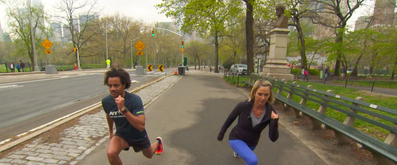 VIDEO: Amy Robach shares tips on how to prepare for a half marathon