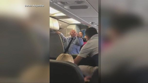 VIDEO: American Airlines confrontation caught on camera