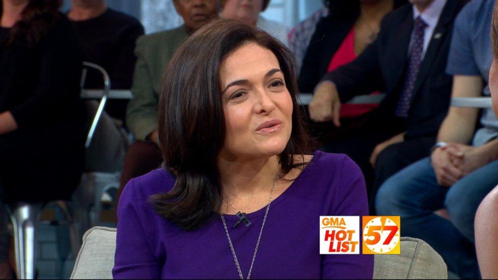 VIDEO: 'GMA' Hot List: Sheryl Sandberg on overcoming grief