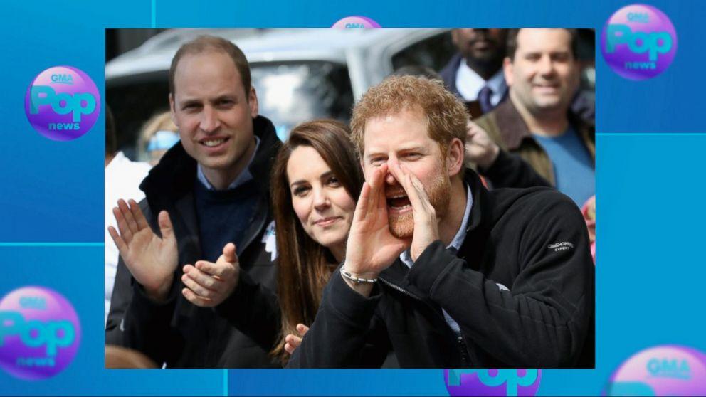 VIDEO: Prince William, Princess Kate and Prince Harry cheer on London Marathon runners