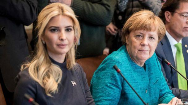VIDEO: Ivanka Trump travels to Berlin for women's summit