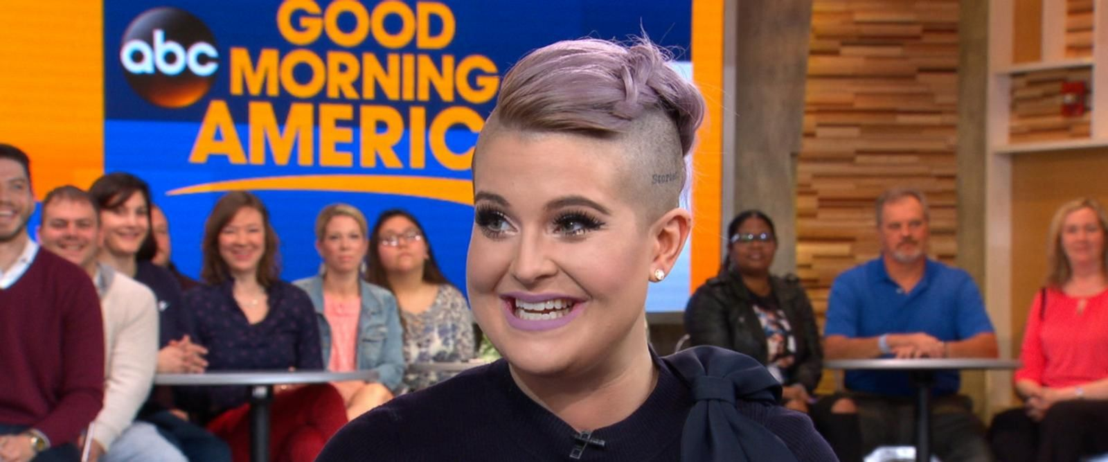 VIDEO: Kelly Osbourne opens up about her new memoir live on GMA