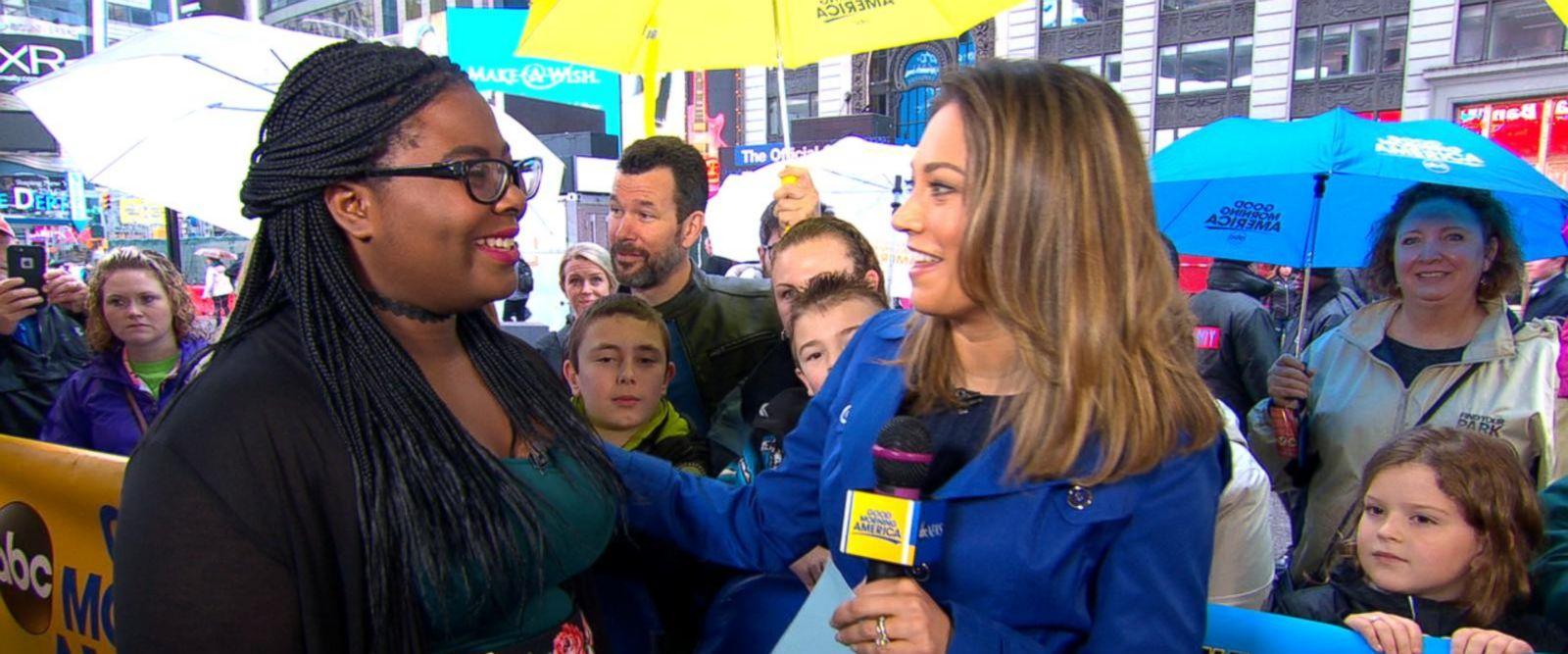VIDEO: Environmental activist Destiny Watford appears live on 'GMA'