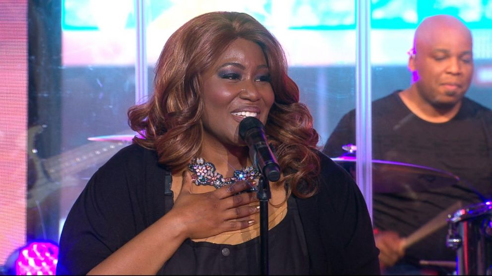 VIDEO: Mandisa performs 'Unfinished' live on 'GMA'
