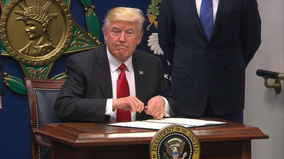 VIDEO: Trump's first 100 days promise tracker: Terror and national security