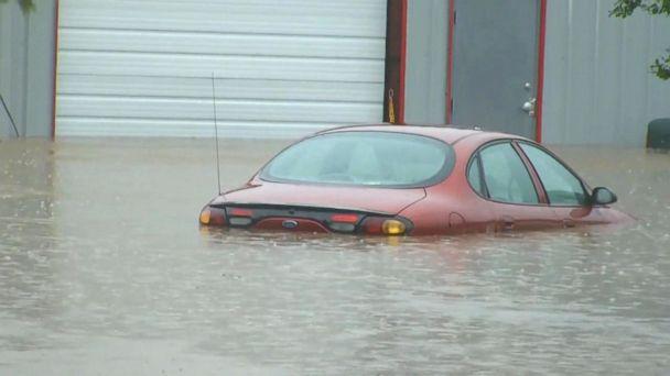 VIDEO: Heavy rain and thunderstorms hit northeast