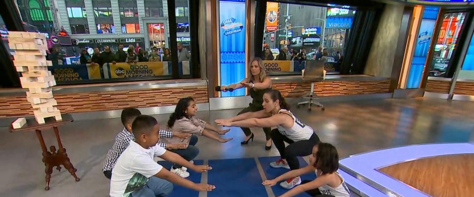 VIDEO: Kids burn off calories with CrossFit exercise