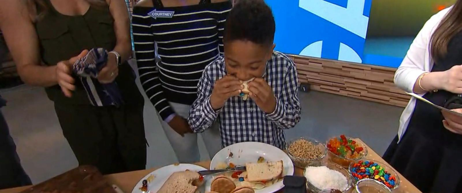 VIDEO: Kids compete in the ultimate PB&J challenge, learn how to make healthier options