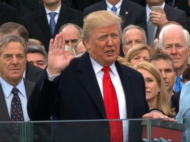 WATCH:  Most notable moments of Trump's first 100 days in office
