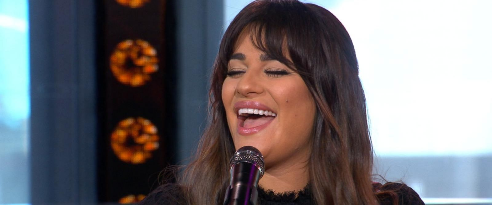 VIDEO: Lea Michele performs 'Anything's Possible' live on 'GMA'